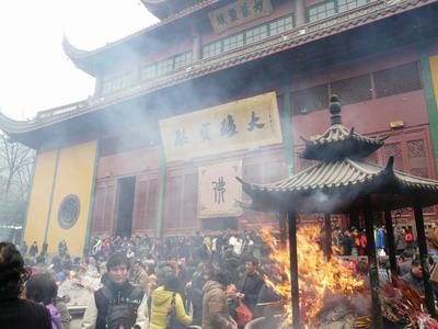 Le Temple Lingyin, à Hangzhou.