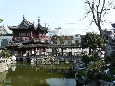 Le Yu garden, en plein cœur du vieux Shanghai.