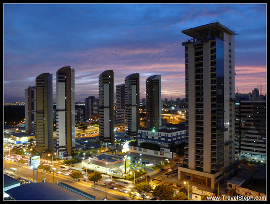 Fin de journée à Fortaleza