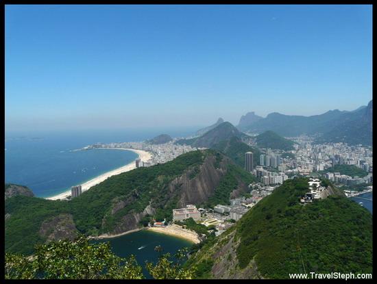 La plage de Copacabana et le Pain de Sucre, deux lieux que je vais continuer à cotoyer