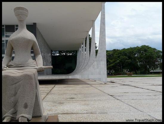La Cour Suprême, à Brasilia