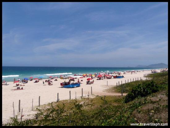 De la verdure, du sable blanc et une mer toute bleu, ou un week-end à Rio de Janeiro