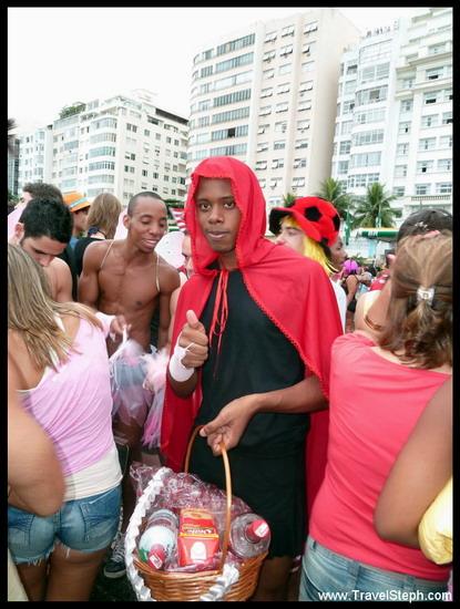 Le chaperon rouge - Déguisement Carnaval Rio de Janeiro 2011