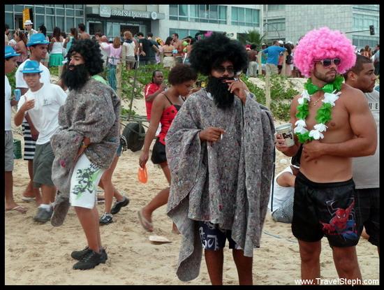 Des mendiants - Déguisement Carnaval Rio de Janeiro 2011