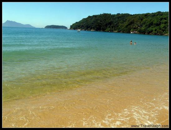 Eaux turquoises l'Ilha Grande, dépaysement garantie