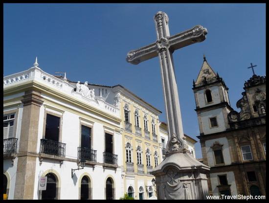 Le Pelourinho, centre historique de Salvador