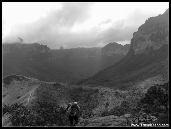 chemin pour rejoindre le village do Capão dans Chapada Diamantina, Bahia