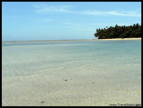 Eaux turquoises à Boipeba - Bahia
