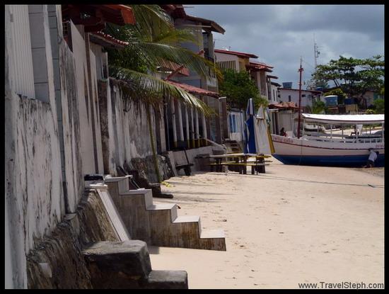 Bord de mer à Morro de São Paulo - Bahia