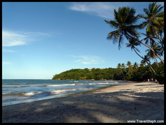Plage calme à Boipeba - Bahia