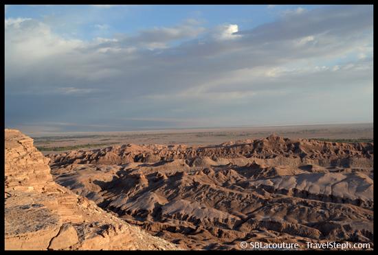 Vallée de la mort dans le désert d'Atacama, au Chili