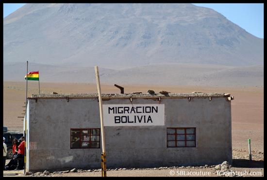 Cabane de l'immigration Bolivienne, dans le Sud Lipez en Bolivie