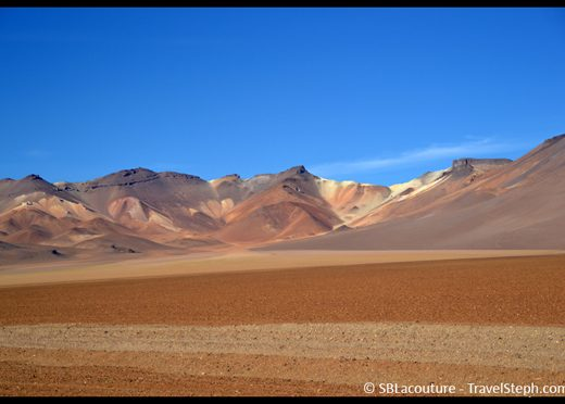 Le Désert de Dali dans le Sud Lipez (Bolivie)