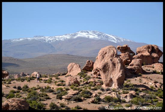 Neiges éternelles dans le Sud Lipez, en Bolivie