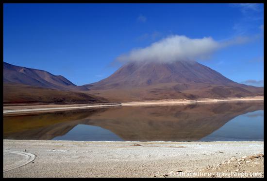 Le « Laguna Verde »...qui n'est plus vert – Sud Lipez (Bolivie)