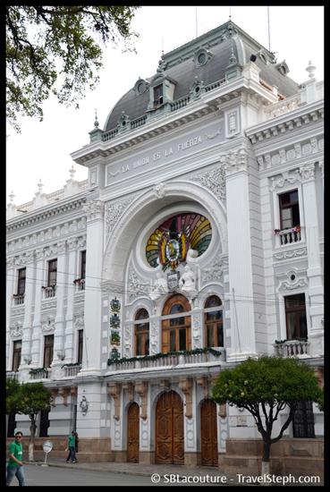 Casa de La Libertad ou a été signé la constitution Bolivienne – Sucre, Bolivie
