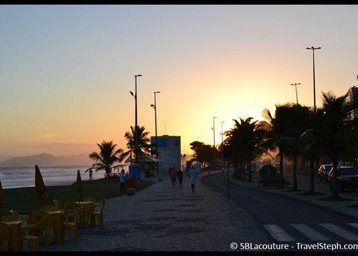 Une banale fin de journée à Rio de Janeiro...