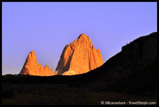 Début de journée à El Chalten, en Patagonie