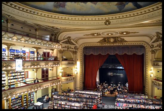 El Ateneo Grand Splendid, ancien théâtre devenu un splendide café-librairie