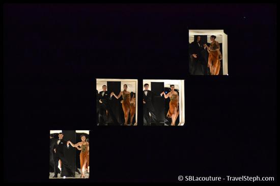 Spectacle de tango à Buenos Aires, en Argentine